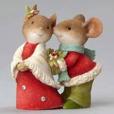christmas mouse with acorn ornaments mice ornament and clay