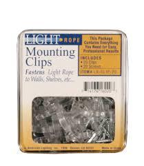 light mounting clips 20 light mounting clips with screws 4px4 efirds lighting