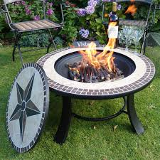 b q patio heaters stargazer mosaic fire pit table fire pit table and gardens