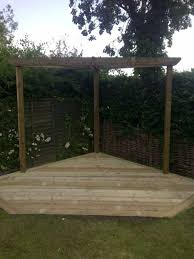 backyard simple wooden corner pergola corner pergolas for the