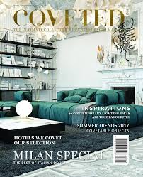 Best Interior Design Blogs by Coveted Magazine U0027s 6th Issue Releases Special News About Milan