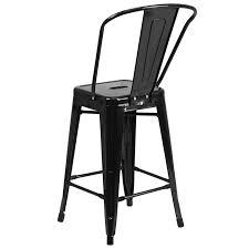 indoor outdoor counter height stool flash furnitur flash furniture 24 high black metal indoor outdoor counter height