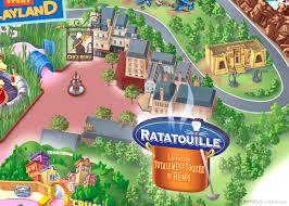 Disney Park Maps Ratatouille U0027s La Place De Rémy Joins Walt Disney Studios Park And