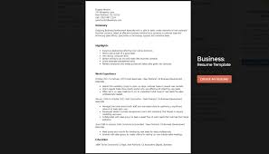 Business Resumes Templates Best Resume Templates That Will Showcase Your Skills