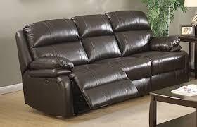 Italian Leather Recliner Sofa Power Reclining Sofa Brown Italian Leather Sam Levitz