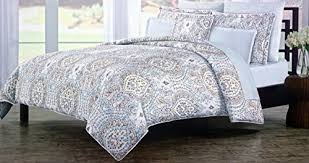 Gray Paisley Duvet Cover Cynthia Rowley Bedding 3 Piece King Duvet Cover Set Light Blue Yellow