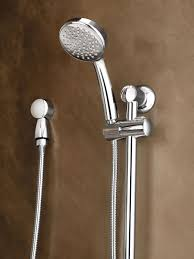 bathroom 5 spray 4 in moen shower head in chrome for charming