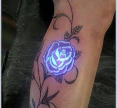 rose tattoo black light pictures to pin on pinterest tattooskid
