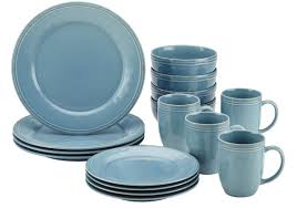 Dining Dish Set Rachael Ray Cucina 16 Piece Dinnerware Set Service For 4