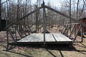 Platform Tents Facility Details Scouts Canada