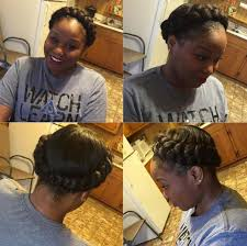 how to cut womens hair with double crown 11 crown braid styles perfect for spring protective styling