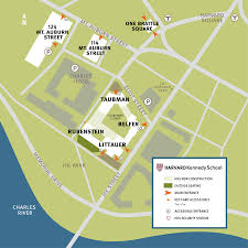 Usa Campus Map by Contact Harvard Kennedy