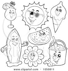 free printable surfboard clipart 57