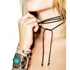 tie cord necklace images Shop cord wrap necklace on wanelo jpg