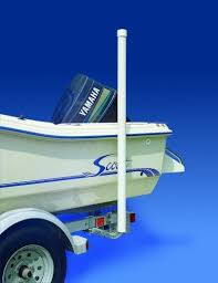 boat trailer guides with lights boat trailer 60 inch guide on post pole kit pvc guide on hardware