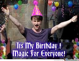 Harry Potter Birthday Meme - daniel radcliffe memes google search ha ha ha pinterest
