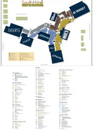Garden State Plaza Store Map by South Hill Mall 116 Stores Shopping In Puyallup Washington Wa