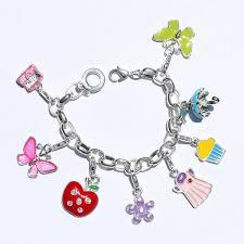 silver child charm bracelet images Buy charm bracelets for girls to make your personality elegant jpg