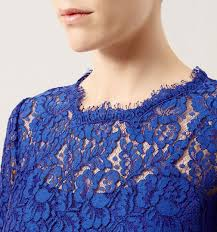blue china blue lace dress occasion dresses outlet dresses hobbs
