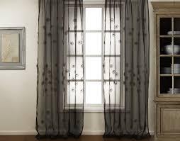 beautiful art stimulated gauze window panels riveting in the
