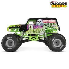 monster jam truck axial smt10 grave digger monster jam truck 4wd rtr trackside