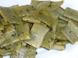 comment cuisiner les haricots plats haricots plats au beurre et au persil le sachet d épices