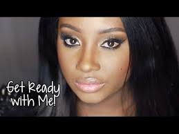 Get The Rimmel Look Meme - get ready with me the golden beat makeup youtube