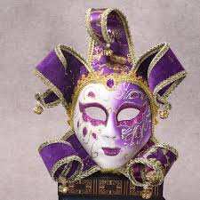 mardi gras wall masks painted venetian vintage masquerade wall mask