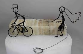 s cake topper tandem bike wedding cake topper tbrb info