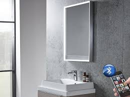 Bathroom Mirror With Lights Built In by Illuminated Bathroom Mirrors With Bluetooth Best Bathroom Decoration