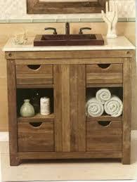 Wood Bathroom Vanity by Pallet Wood Bathroom Vanity Sink Bathroom Ideas Pinterest