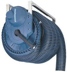best wall mounted hose reel exhaust hose reel 865 electric motor driven nederman