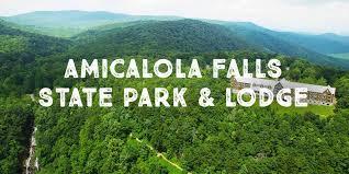 amicalola falls amicalola falls state park and lodge in
