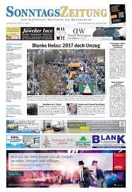 Wetter Bad Bentheim 7 Tage Sonntagszeitung 13 11 2016 By Sonntagszeitung Issuu