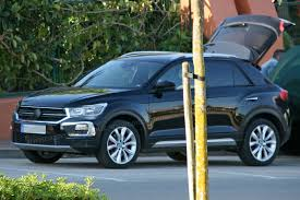 tiguan volkswagen lights this is our best look yet at the volkswagen t roc suv by car magazine