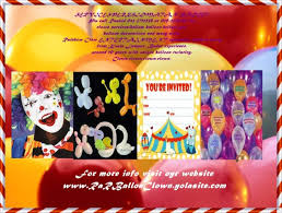 clown rentals for birthday rar ballon clown