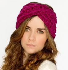 crochet ear warmer headband 50 crochet headband patterns allfreecrochet