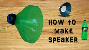 How To Decorate Home With Simple Things by How To Make Speaker With Plastic Bottle Simple U0026 Easy Diy Youtube