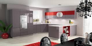 Meuble Cuisine Taupe by Indogate Com Cuisine Rouge Mur Couleur