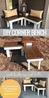 Diy Patio Cushions Bench Outdoor Corner Bench Diy Outdoor Corner Bench Cheap