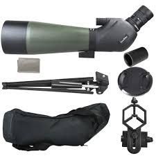 spotting scope window mount gosky 20 60x 80 porro prism spotting scope waterproof scope for