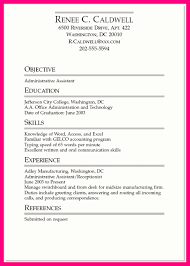 Manufacturing Job Resume by 11 Job Resume Samples For College Students
