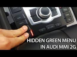 audi 2g mmi update audi mmi 2g green menu description mr fix info