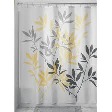 Yellow And White Shower Curtain Looking Yellow And White Shower Curtain Magnificent Ideas 17