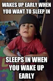 Toddler Meme - livememe com scumbag toddler