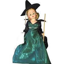 top 5 witch dolls grab a broom and fly away ruby lane blog
