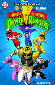 mighty morphin u0027 power rangers free comic book issue