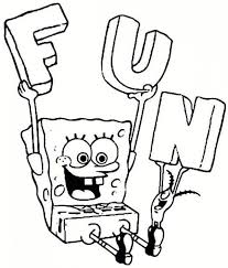20 free printable spongebob squarepants coloring pages