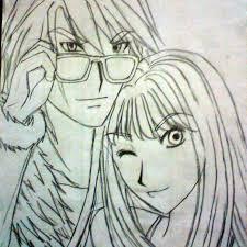 the killer couple sketch by karina de silva on deviantart