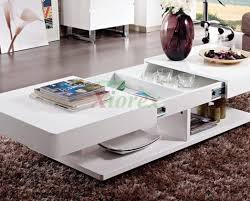 Contemporary White Coffee Table by Fascinating Diy Ottoman Coffee Table Pallet Tags Ottoman Coffee